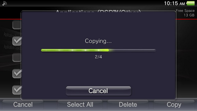 how to connect ps vita to tv via usb