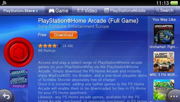 PS Home Arcade