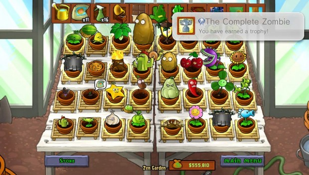 Plants vs Zombies Platinum