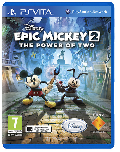 Epic Mickey 2 Cover