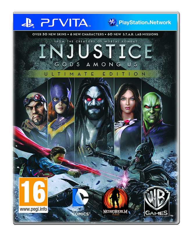 Injustice - Gods Among Us Box Art