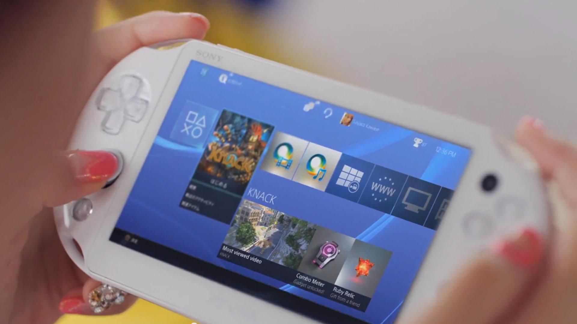 PS Vita PS4 App
