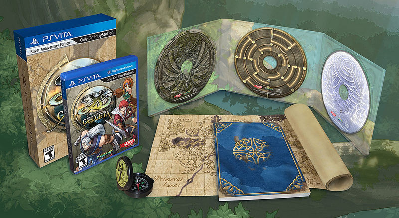 Ys- Memories of Celceta Silver Anniversary Edition