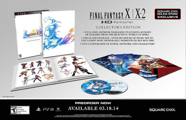 FFX-X2 Collectors Edition