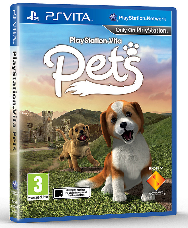 PS Vita Pets Box Art