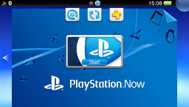 PlayStation Now on PS Vita
